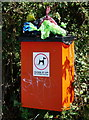 SE3005 : Dog Poo Bin at Hawks Cliffe View, Dodworth by Ian S