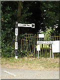TM0890 : Roadsigns on Moat Lane by Adrian Cable
