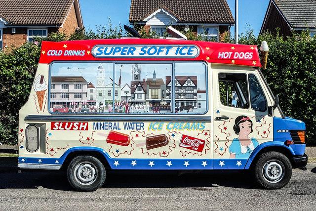 Ice Cream van, Wildish Rd, Faversham