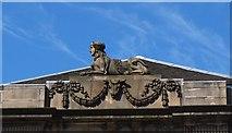 NT2473 : Keeping watch above Charlotte Square, Edinburgh by Jim Barton