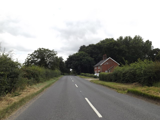 B1077 Haugh Road, Banham