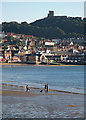 TA0488 : Scarborough: on South Sands by John Sutton