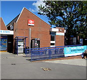 SY0081 : Entrance to Exmouth railway station by Jaggery