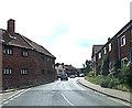 TG0922 : School Road, Reepham by Geographer