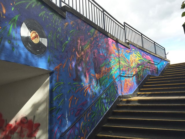 Newcastle-under-Lyme: Bridge Street Subway (7)