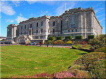 SN5981 : The National Library Of Wales by Chris Andrews