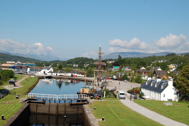Approaching Corpach Canal Basin