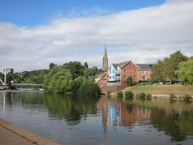 River Exe in Exeter