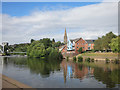 SX9192 : River Exe in Exeter by Des Blenkinsopp