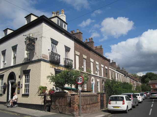 Orford Street and the Edinburgh Public House