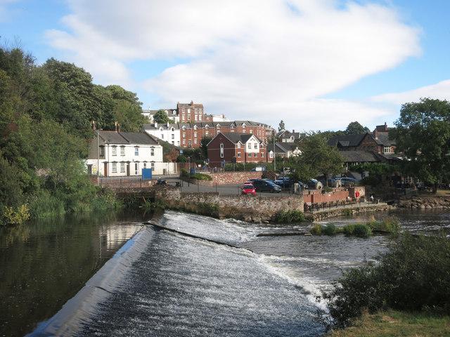 Blackaller Weir, River Exe