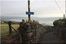 SH6017 : The Wales Coast Path approaching Barmouth by Jeff Buck