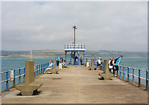 SY6878 : Stone Pier, Weymouth by Oliver Mills
