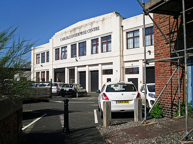 Carlisle Enterprise Centre (back of building)