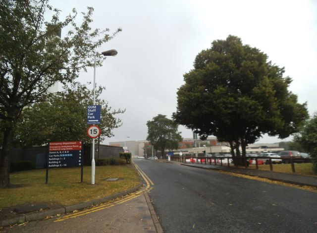 Hospital Entrance View