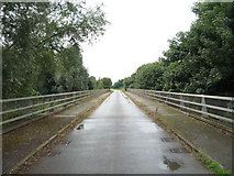 SK1433 : Flackets Lane bridge over the A50 by JThomas