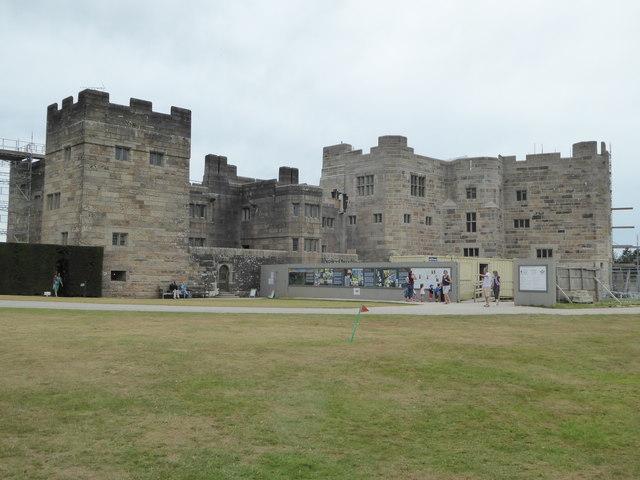 Restoration work continues at Castle Drogo