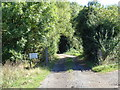 SO8971 : Track to Pool House farm, Purshull Green by Jeff Gogarty