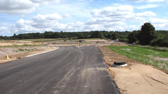Where the NDR meets Fakenham Road