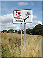 TM0274 : Roadsign on West Street by Adrian Cable