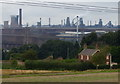 SE9308 : Keepers Cottage and Scunthorpe Steel Works by Mat Fascione