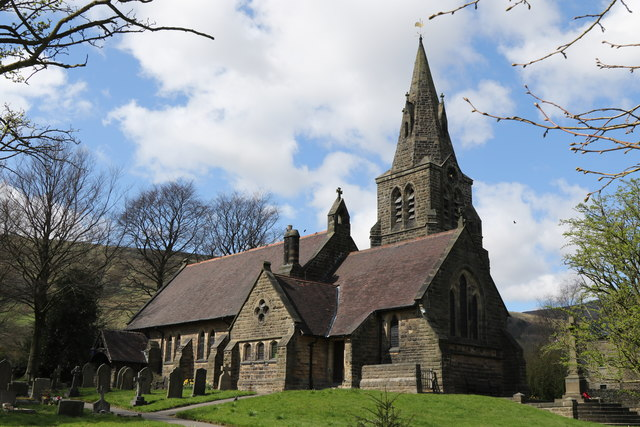 The Church of the Holy and Undivided Trinity, Edale
