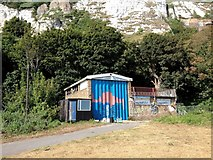 TR3241 : Former Territorial Army Centre, Townwall Street, Dover by Chris Whippet