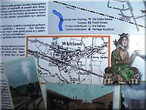 SN1916 : Information Board - Whitland Station by welshbabe