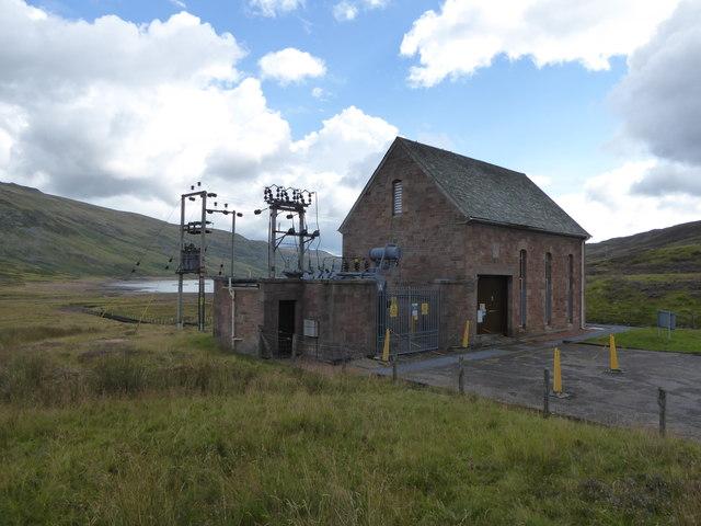 Lednock Power Station (hydro-electric)