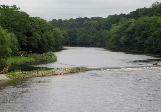 Weir on the River Lune