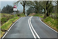 SO0142 : Start of Steep Hill near Llwyn-rhidyll by David Dixon