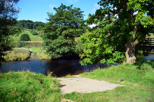 Ford on the River Ribble