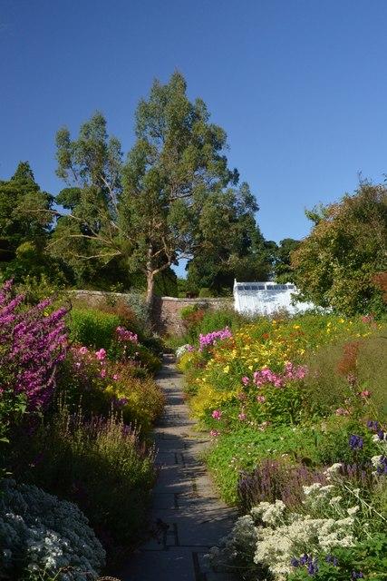 The Walled Garden at Crathes Castle, Aberdeenshire