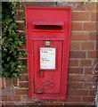 SX9688 : Queen Elizabeth II postbox, High Street, Topsham by Jaggery