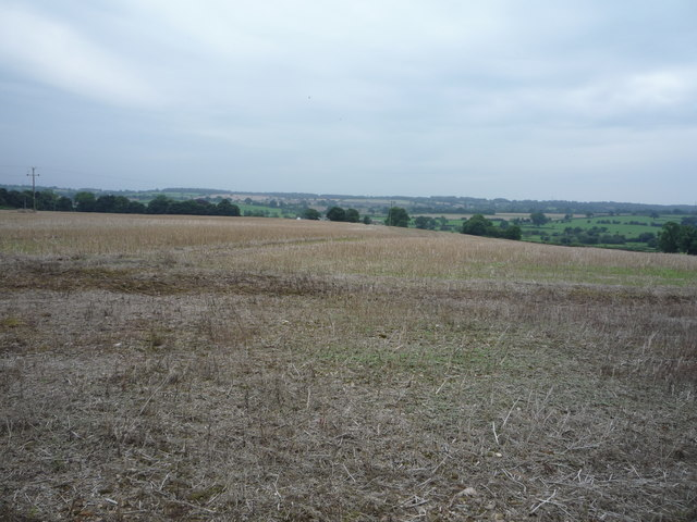 Stubble field near Hothill Farm