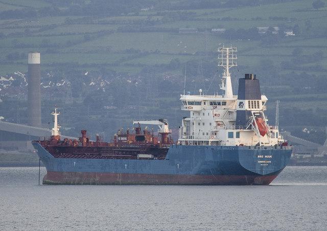 The 'Bro Nuuk' off Bangor