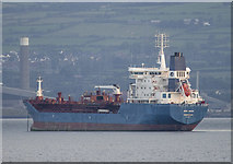 J4886 : The 'Bro Nuuk' off Bangor by Rossographer