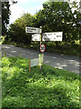 TM0669 : Roadsign on the B1113 Walsham Road by Geographer