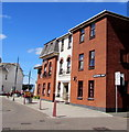 SX9980 : Three-storey buildings, Manchester Road, Exmouth by Jaggery