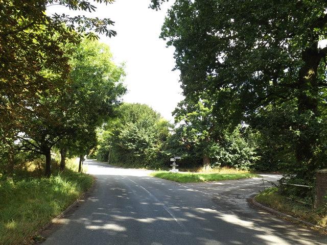 B1113 Walsham Road, Finningham