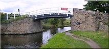 SE2519 : Calder and Hebble Navigations Long Cut - Lodge Farm Bridge by Bobby Clegg