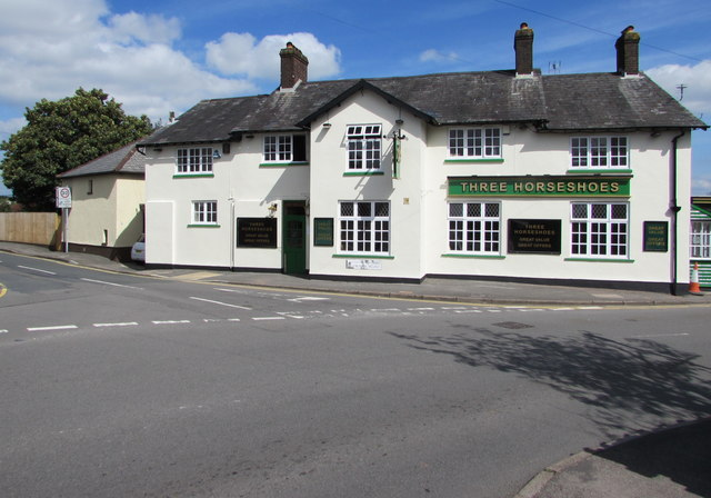 New look for the Three Horseshoes, Malpas, Newport