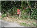 SK0134 : Elizabeth II postbox, Dods Leigh by JThomas