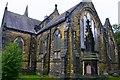 SE3039 : Saint John's Church, Harrogate Road, Moor Allerton, Leeds by Mark Stevenson