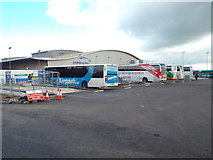 TL1121 : Coach terminal at Luton Airport by Malc McDonald