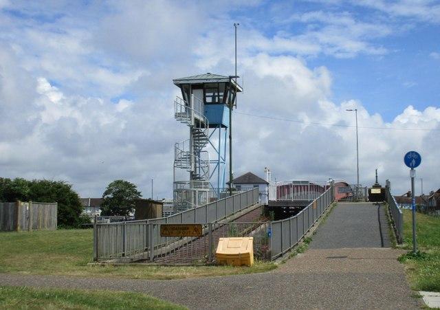 Retractable Bridge at Littlehampton