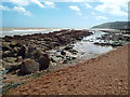 TV6197 : Rocky shore, Eastbourne by Malc McDonald