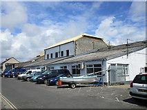 TQ0202 : Boat repair facilities, Rope Walk, Littlehampton by Jonathan Thacker