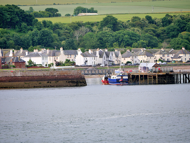 Entrance to Cromarty Harbour