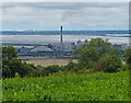 SE9918 : South Ferriby Cement Works and the River Humber by Mat Fascione